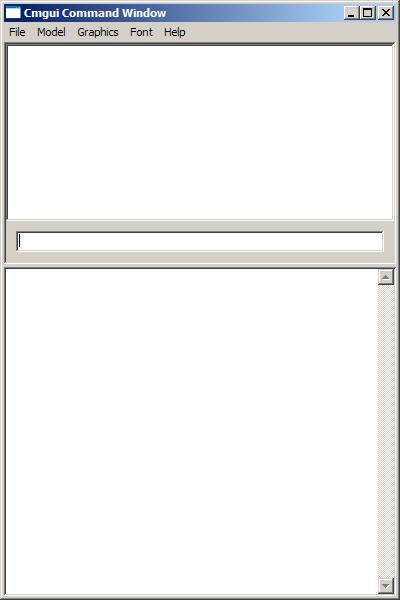 The CMGUI main window